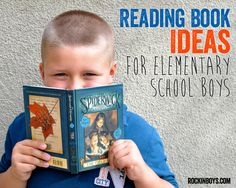 Book Ideas for Elementary School Boys