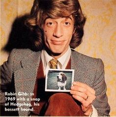 A true rock star #RobinGibb #BeeGees