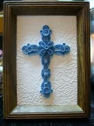 quilled cross - Google Search