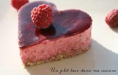 P'tit gâteau individuel framboise et chocolat blanc