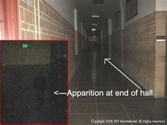 Real Ghost - GhostSeek - Ghost Pictures and Videos - Ghost Pictures/Apparition Of Ghost End Of A Hall