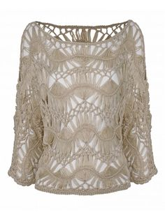 hairpin lace jumper
