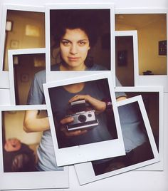 Polaroid display - luiza by water, via Flickr #polaroid #display