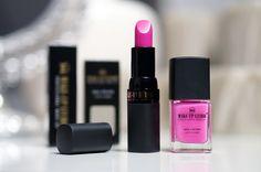 Roze Make-up Studio Lipstick 41 & Neon Nail Colour N5