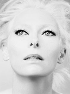 Tilda Swinton - Extremely talented actress with a great and unique style. Not to mention very beautiful as well.