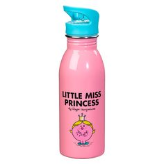 Buy Mr Men Little Miss Princess Water Bottle from our Water Bottles range at John Lewis & Partners. Water Bottle Online, Mr Men Little Miss, Selling On Pinterest, Bright Pink, Jewelry Shop, Kids Outfits, Princess, Fun, Gifts