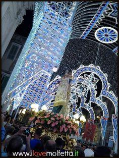 The photos of the event's great tradition in Molfetta, the Madonna dei Martiri. www.ilovemolfetta.it
