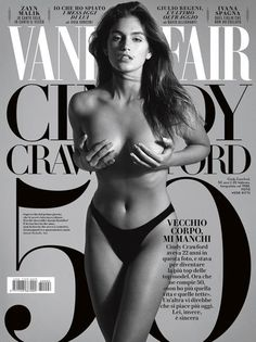 Vanity Fair (Italy) for Cindy Crawford.
