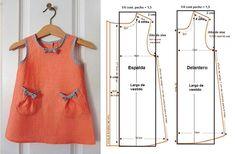 Fascinante curso gratis de costura: Aprende hacer vestidos para niñas con patrones paso a paso