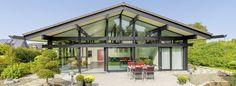 HUF Haus Bungalow - Modernes Fertighaus aus Holz und Glas - HUF HAUS