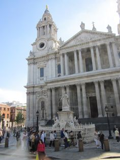St. Paul's Cathedral in London, England.  Where Princess Di & Prince Charles were wed.