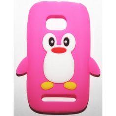Lumia 710 hot pink pingviini silikonisuojus. Lumia 710, Hot Pink, Phone Cases, Pink, Phone Case