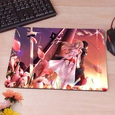 Sword art online sao Computer Mouse Pad Mousepad Decorate Your Desk Non-Skid Rubber Pad