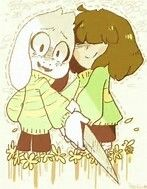 Chara teaching azzy how to attake