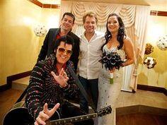 Jon Bon Jovi walks super fan down the aisle in Las Vegas
