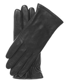 Pratt and Hart Women's Classic Thinsulate Lined Leather Gloves Size 7 Color Black Knit Mittens, Knitted Gloves, Cold Weather Gloves, Black Leather Gloves, Dress Gloves, Ladies Party, Shawls And Wraps, Womens Scarves, Women's Accessories