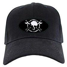 Wrench-Gear-Skull Baseball Hat for