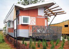 Casa Pré Fabricada por Morphosis