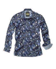 """""""Joe Browns"""" Joe Browns Freemont Floral Shirt Reg at Jacamo"""