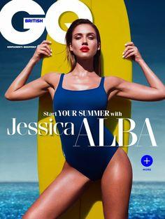 Jessica Alba na GQ Britânica