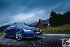 Audi RS6 Avant. Road trippin' across Austria