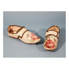 Woman's Wedding Shoes about 1765-1770