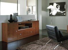 Borgonovo mobili ~ Contemporary sideboard glass metal tempered glass pandora by
