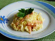 Receta Arroz con salmón ahumado modo chef o matic pro y modo convencional para Monik32 - Petitchef