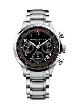 8c6dcef3aa4 A steel and round 42mm chronograph watch for men