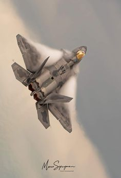Military Jets, Military Aircraft, Air Fighter, Fighter Jets, F22 Raptor, Airplane Art, Jet Engine, Aircraft Pictures, Jet Plane