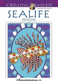 Creative Haven Sealife Designs Coloring Book- COPYRIGHTED MATERIAL. USE FOR YOUR OWN ENJOYMENT ONLY