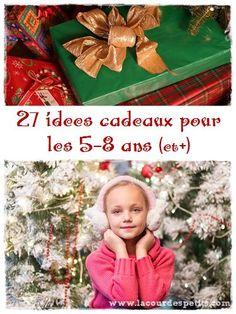 Des idées cadeaux intelligents, créatifs et amusants pour les enfants de 5 ans et +. Pour tous les goûts et à tous les prix, ce sont nos coups de coeur de l'année (reçus aux anniv', dénichés en brocante ou à la ludo) : jouets, livre, musique.... Cliquez pour en voir plus http://www.lacourdespetits.com/idees-cadeaux-5-8-ans/