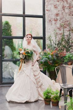 i think we can all agree that this gown is a thing of exquisite beauty! Libertine by Ian Stuart in either honey or rose striped taffeta shark
