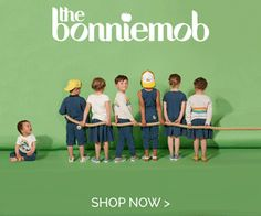 The Bonnie Mob cool baby and childrenswear. Cool clothing for kids