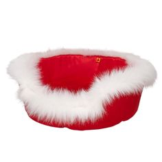 Red Pet Bed  #BearHoliday