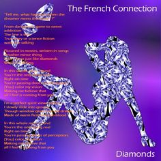 "Hello ! This is The French Connection . Watch ""Diamonds"" video extract at https://youtu.be/9EL2oegyna4?t=2m34s Keep in Touch ."