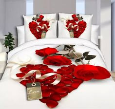 29 Variants Queen Size 3D Bedding Sets Include Duvet Cover/Bed Sheet/Pillow Cases