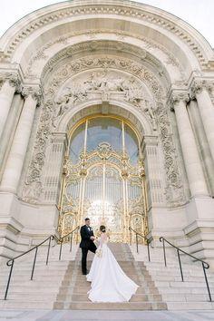 Elopement for two in Paris Paris City, Paris Street, One Hour Photo, Paris Photos, Pont Alexandre Iii, Night Photos, Couple Pictures, Engagement Pictures, Wedding Portraits
