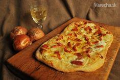 Tarte flambée - francúzsky slaný koláč (fotorecept) - Recept