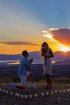 Wedding Proposal Ideas That Are Romantic ❤ See more: http://www.weddingforward.com/wedding-proposal-ideas/ #weddings