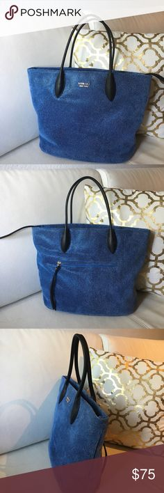 ❤️SORIAL NEW YORK Stingray embossed leather BAG❤️ Beautiful Satchel Ocean Blue from SORIAL Zipper closure Stingray embossed leather lend casual sophistication to a less-structured take On this casual-chic leather satchel in perfect condition like new Sorial New York  Bags Satchels
