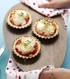 Bramley and Goat's Cheese Tarts | Bramley Apples