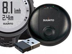 Relógio Monitor Cardíaco M5 Black/Silver Suunto - Resistente à água Indicação…