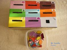 caja completa de formas y colores