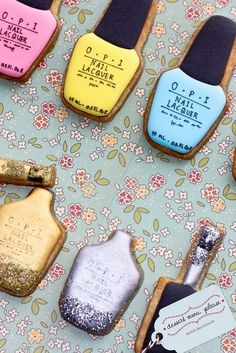 Baked Goods That Look Like Beauty Products! This, You Need To See: Girls in the Beauty Department: #Beauty #treats #glamour