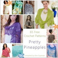 WIPs 'N Chains | Link Blast | 65 Free Crochet Patterns for Pineapples compiled by Kim Guzman