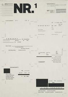 Wolfgang Weingart. (Swiss, born 1941). Typographic Process, 1971-1974. Lithograph