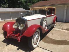 1930 Rolls-Royce 20/25 Limo