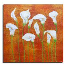 gedehnt handgefertigt dekorativen floralen Malerei