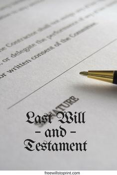 Last will and testament forms can save you a lot of bother. Directly write your own last will and testament with no need to hire a lawyer. Make Money From Home, How To Make Money, Organizing Important Papers, When Someone Dies, Emergency Binder, Last Will And Testament, Legal Forms, Funeral Planning, Budget Organization